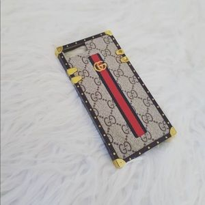 Other - NWT 7/8 plus PU Leather iphone case